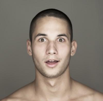 הסרת שיער פנים לגבר